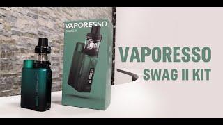 Vaporesso Swag II   80W Staŗter Kit Unboxing