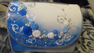 Свадебная казна для денег  Briefbox Hochzeitspost Wedding Solution