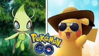 ¡OFICIAL CELEBI en Pokémon GO! Pikachu con GORRO y GAFAS por el SEGUNDO ANIVERSARIO! [Keibron]