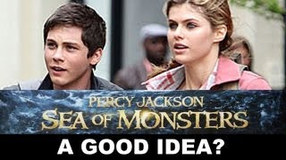 Percy Jackson and The Sea of Monsters 3D : Update - Beyond The Trailer