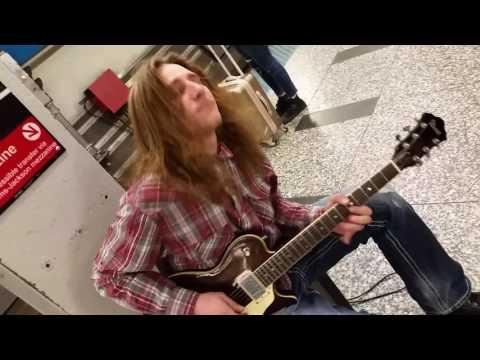Machete Mike does Hendrix National atheneum, CRANK IT UP