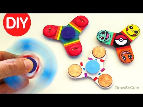 How to Make an Easy Fidget Spinner Toy