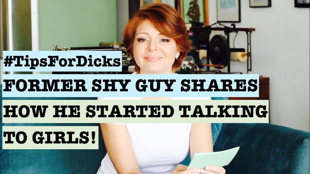 dating advice for shy men