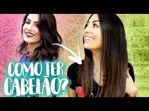 COMO MEU CABELO CRESCEU TÃO RÁPIDO?! 10 DICAS E TRUQUES! | Camila Lima