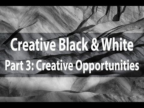 Creative Black & White | Part 3: Creative Opportunities | Harold Davis