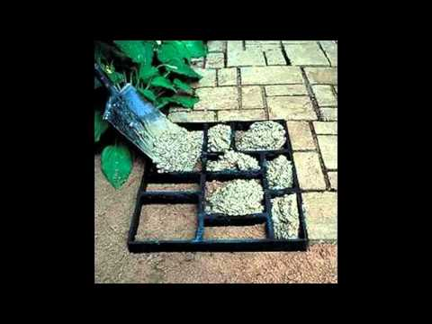 Home sidewalk design decorating ideas - YouTube