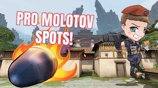 VALORANT   Best and Easy Brimstone Molotov Spots on HAVEN