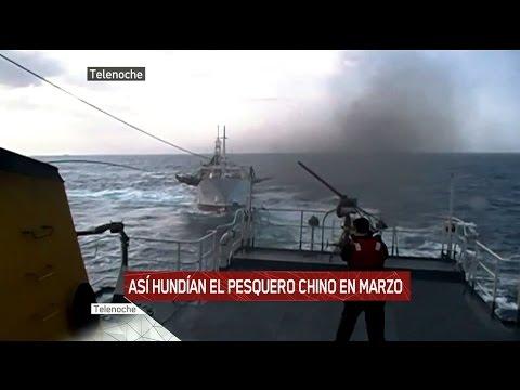 Una de piratas (chinos): Así hundían al barco chino