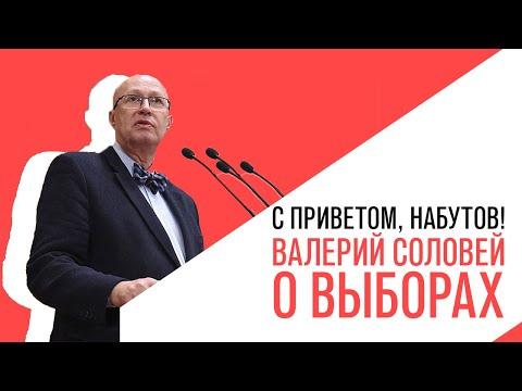 «С приветом, Набутов!», Валерий Соловей, о выборах 8 сентября