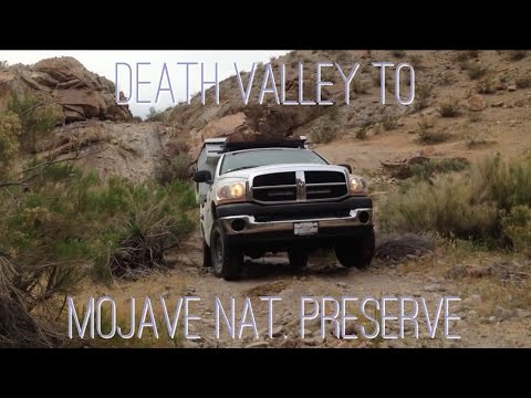 Death Valley to Mojave Off Road