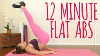 12 Minute Flat Abs at Home! Burn That Belly Fat with Dani! Beginners Ab Workout, No Equipment