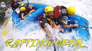 FAST GEKENTERT - Rafting Tour in Nepal