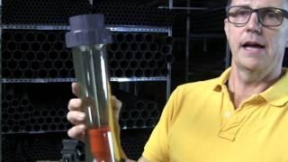 PVC variable area flowmeter rotameter