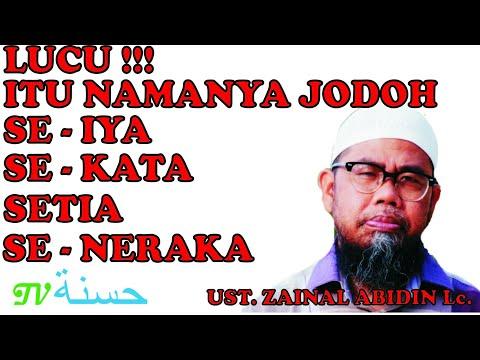 2 Pengalaman Lucu Saat Berdakwah - Ust. Zainal Abidin Syamsudin Lc.