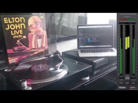 Elton John - 17 11 70 Vinyl - complete B SIDE -