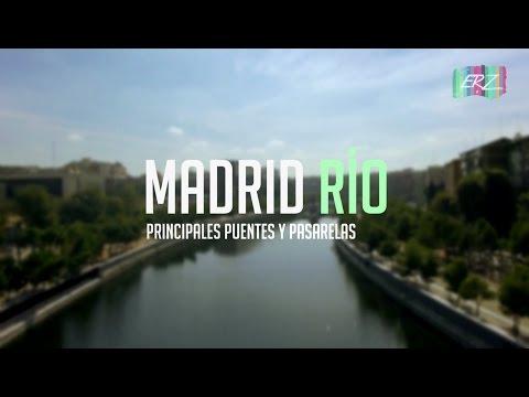 Madrid Río, Puentes Y Pasarelas