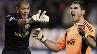 Victor Valdes vs Iker Casillas★Elevation.