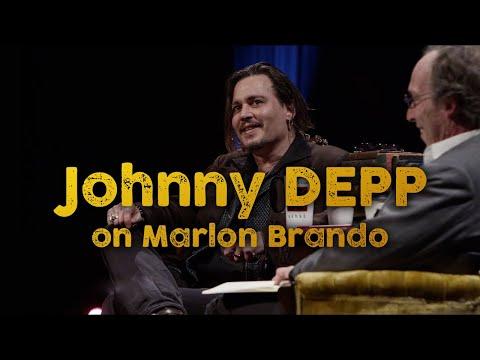 Johnny Depp on Marlon Brando