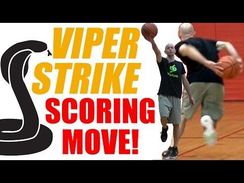 My GO TO Scoring Move! VIPER STRIKE 🐍 Shammgod Behind Back! Basketball Ankle Breakers