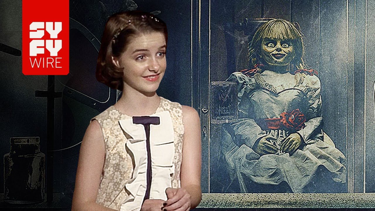 Download Annabelle Comes Home - Yeah, We're Pretty Sure The Set Was Haunted | SYFY WIRE