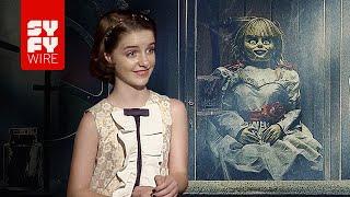 Annabelle Comes Home - Yeah, We're Pretty Sure The Set Was Haunted | SYFY WIRE