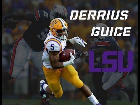 derrius Guice LSU highlights