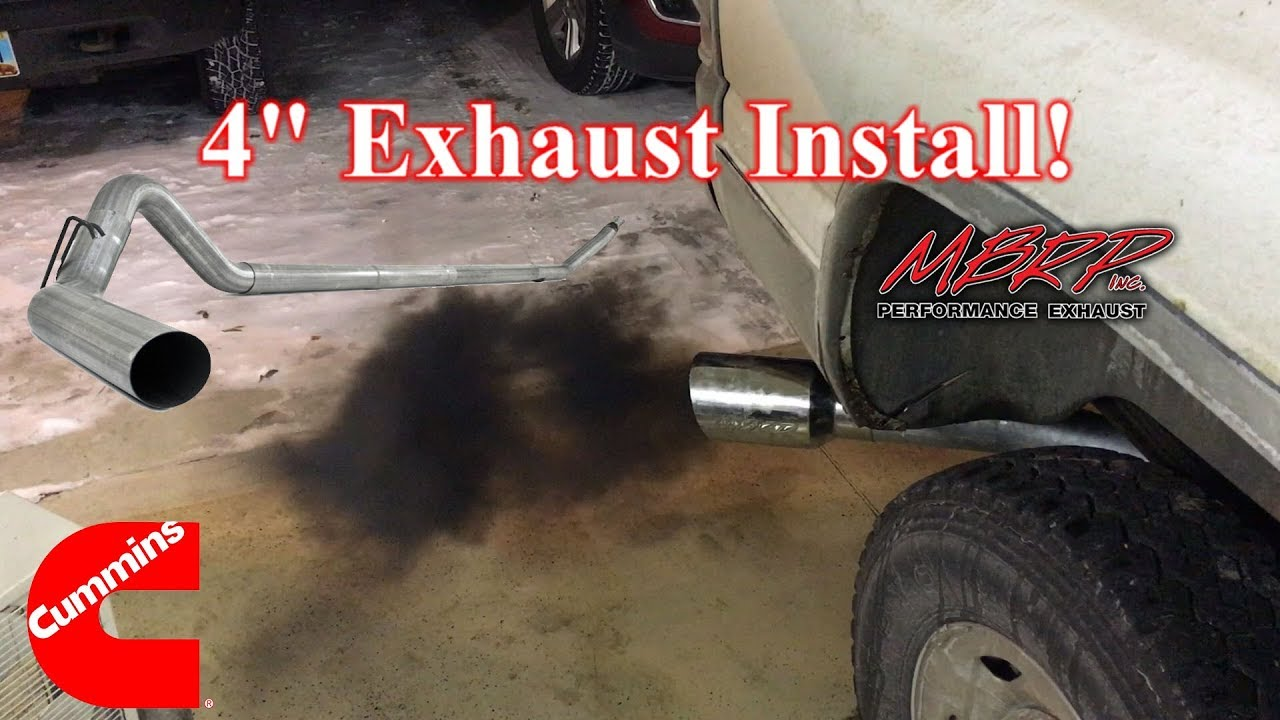 Second Gen Cummins Exhaust Install Diy Tutorial Youtube System Diagram Related Keywords Suggestions