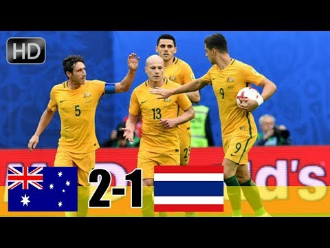 Australia Vs Syria 2-1 | Highlights & Goals 2018 World Cup Qualifiers