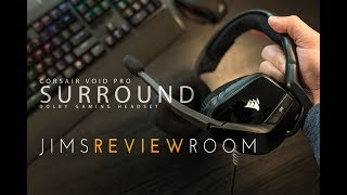 Corsair Void PRO Surround w/  DOLBY 7.1 - New August 2017 model - REVIEW