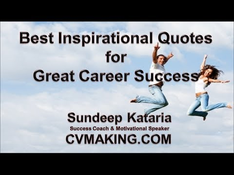 Best Inspirational Quotes for Great Career Success