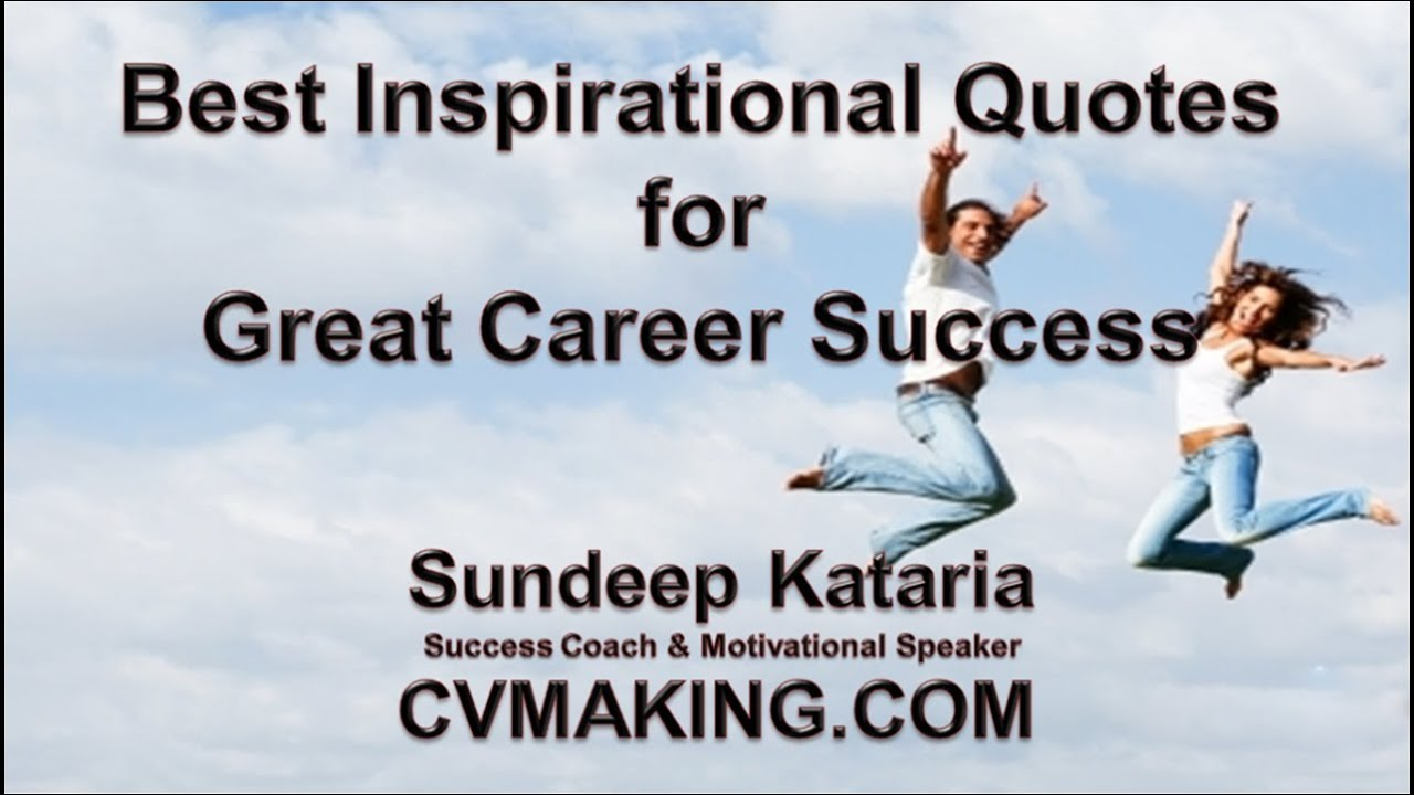 Quotes On Career 2
