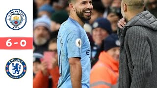 Manchester City vs Chelsea 6 - 0  Premier League Highlights 10/02/2019