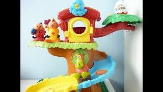 BUMBA en zijn vriendjes en de boom - spelen op de boom - surprise egg