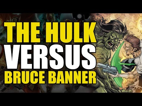The Incredible Hulk Fights Bruce Banner?! (The Incredible Hulk Vol 1: Hulk vs Banner)
