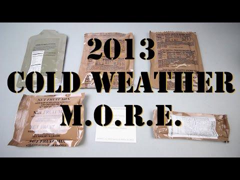 2013 M.O.R.E. - AMERICAN MILITARY RATION (MODULAR OPERATIONAL RATION ENHANCEMENT)