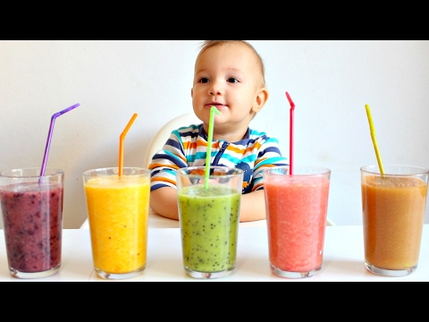 Learm Colors with Fruits and Blender for Babies and Preschoo