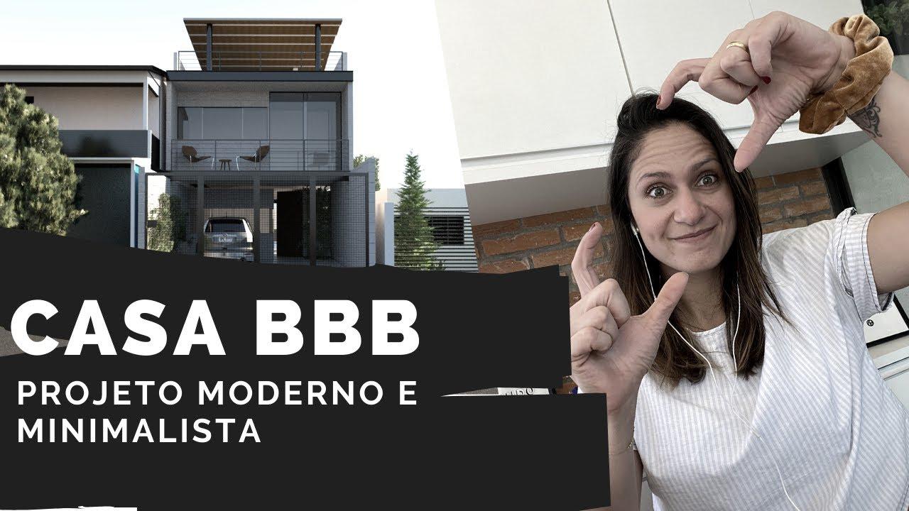 Download CASA ESTREITA MODERNA E DE BAIXO CUSTO #CASAMAR