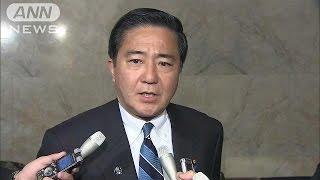 """民主・維新の""""新党"""" 党名変更に反対の声も・・・(16/02/24)"""