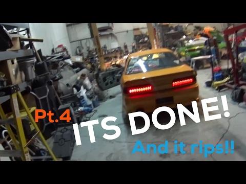 Pt.4 Jesses GTX3076r 1JZ / Cd009 240sx drift car is DONE!!!