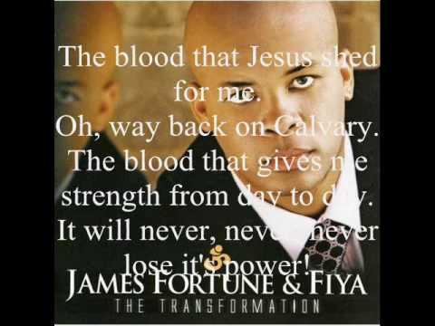 The Blood by James Fortune and FIYA featuring Zacardi Cortez