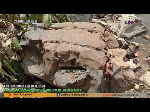 Sejarah Tersembunyi di Aceh Utara, Ular Raksasa Dikutuk Jadi Batu