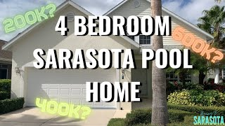 Sarasota 4 Bedroom POOL Home | Sarasota Real Estate | Moving To Sarasota