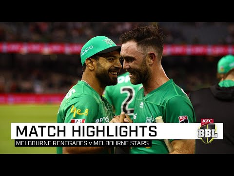 Maxwell Blasts Stars To Derby Victory Over Winless Renegades | KFC BBL|09