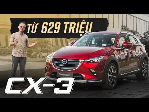 Chi tiết Mazda CX-3 từ 629 triệu: có gì để nhập mâm GẦM CAO - CỠ NHỎ?