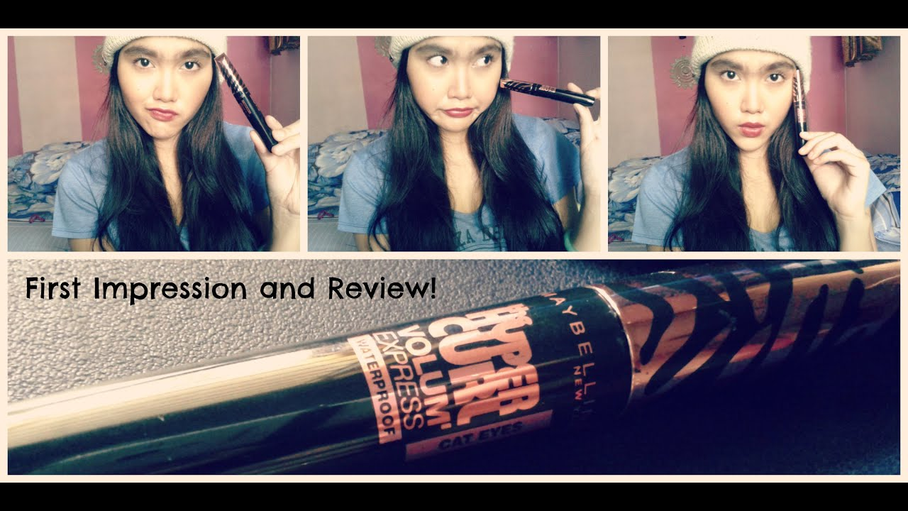 Maybelline Hyper Curl Volum Express Cat Eye Review And First Impression