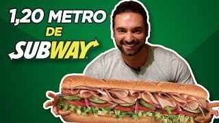 1,20 metro de subway! [Speed Challenge]