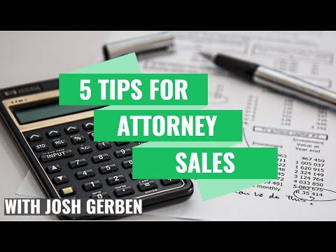 Gerben's Five Fundamentals to Legal Sales