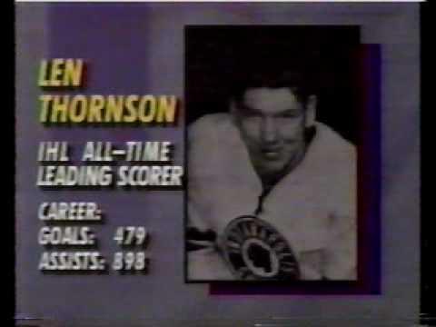 The History of the International Hockey League