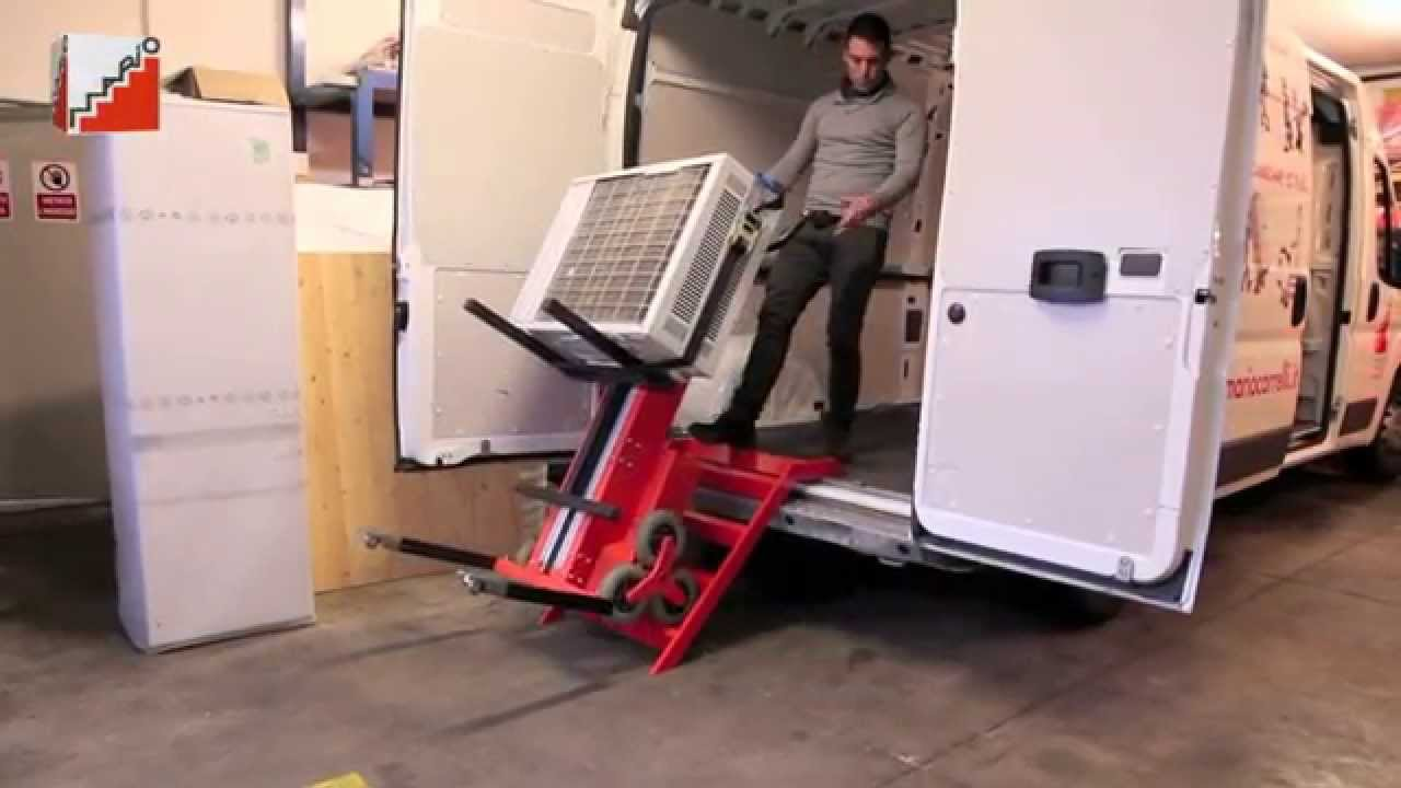 Carrello Saliscale Mario RD120 - CS180. - YouTube