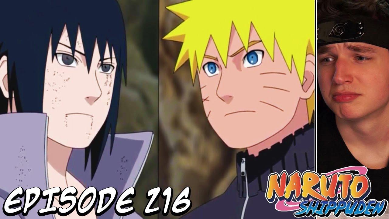 Naruto S Promise To Sasuke Shippuden Reaction Episode 216 High Level Shinobi